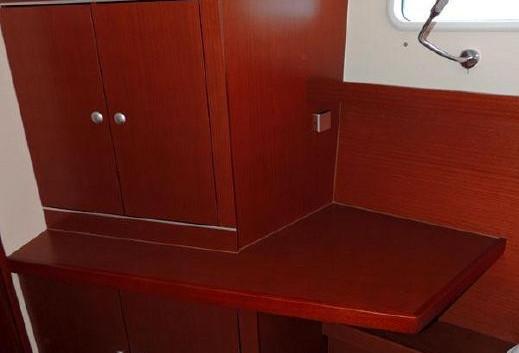 Hanse 415 fwd cabin