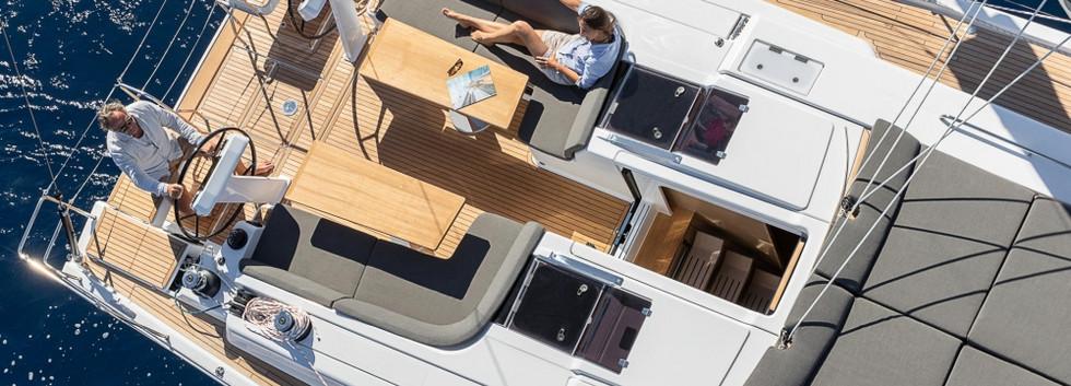 Hanse 508 deck