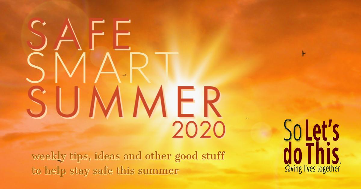 Safe Summer 20 Banner