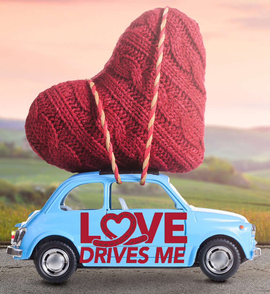 Love Drives Me Campaign Logo