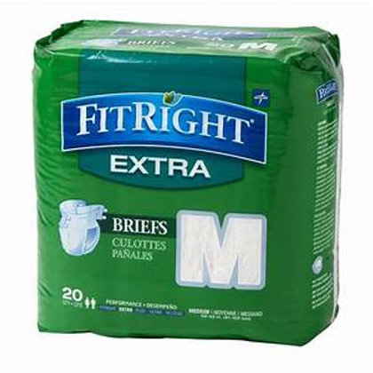 FitRight Extra Briefs - M