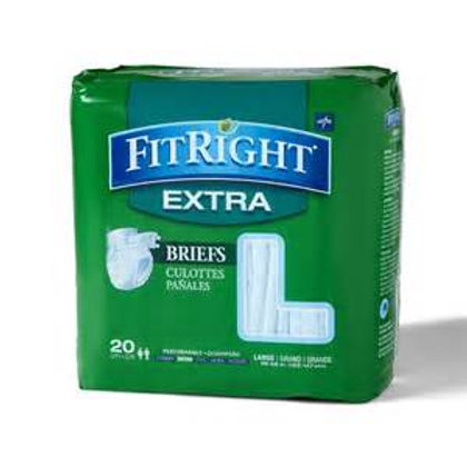 FitRight Extra Briefs - Large