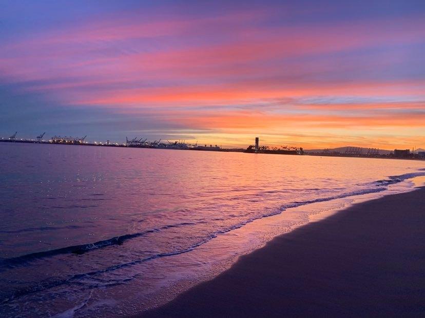 LB sunset