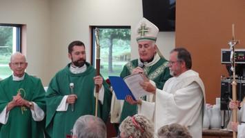 Blessing of New Parish Hall