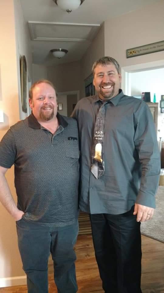 Steve Larson and Jesse Geschwill 11-18