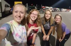 Truck stop selfie