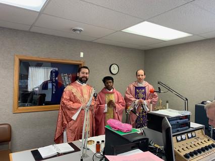Radio Mass by Fr. Ben, Fr. Jimmy, & Fr. Mark
