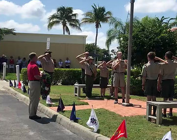 Memorial Day Flag Ceremony