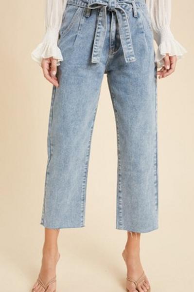 Paper Bag Denim Jeans