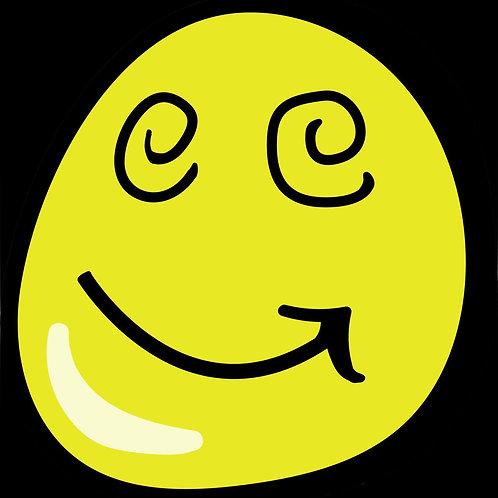 Graffiti Smile Sticker Bundle