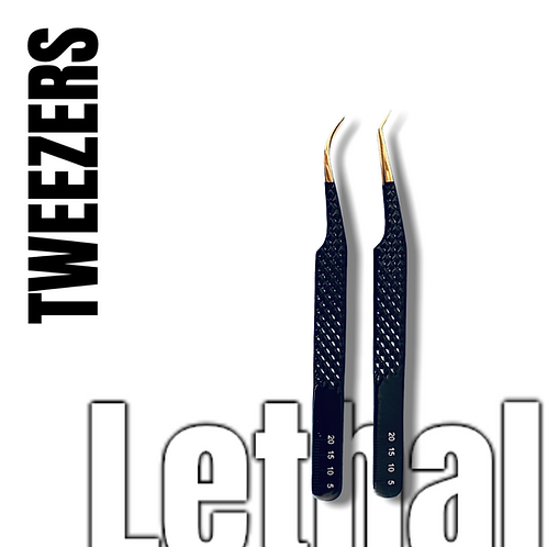 Hand Tested Tweezers Black