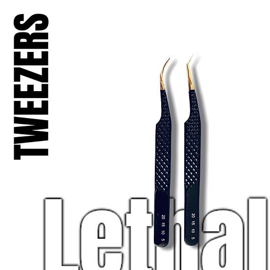 Hand Tested Tweezers Black