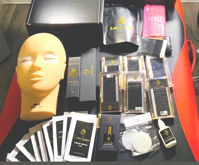 Mega Training Kit Lethal Lashes Trainers ONLY