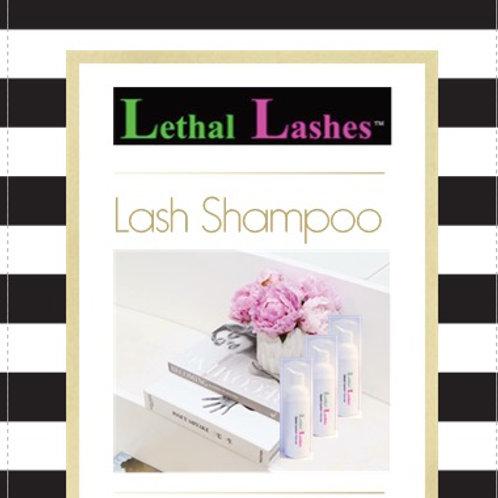 Lash Shampoo Client Cards