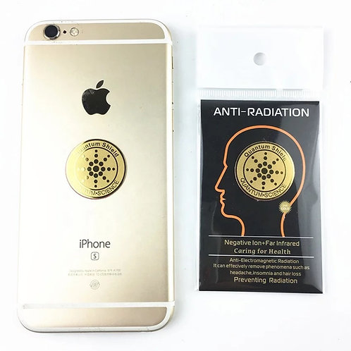 5G Anti-Radiation Protection 24k Plated Gold