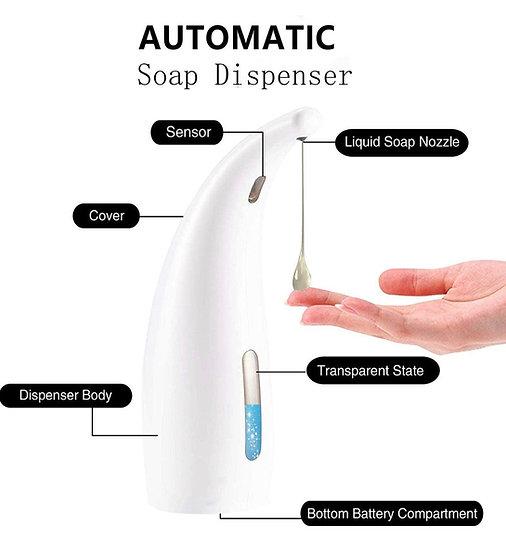 Automatic Touchless Soap/Sanitizer Dispenser