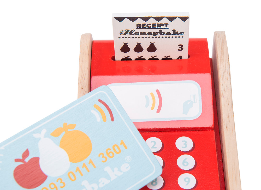 contact less, contactless role play cards, pretend play, honeybake, honeybake role play