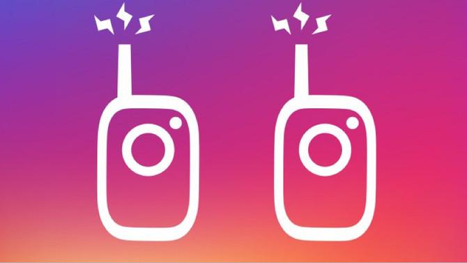 Instagram launches walkie-talkie voice messaging