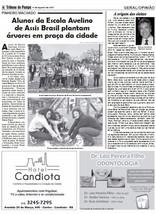Matéria Jornal Tribuna do Pampa - açã