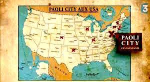 CARTE PAOLI CORSICA aux USA