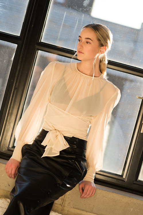 The Inês blouse