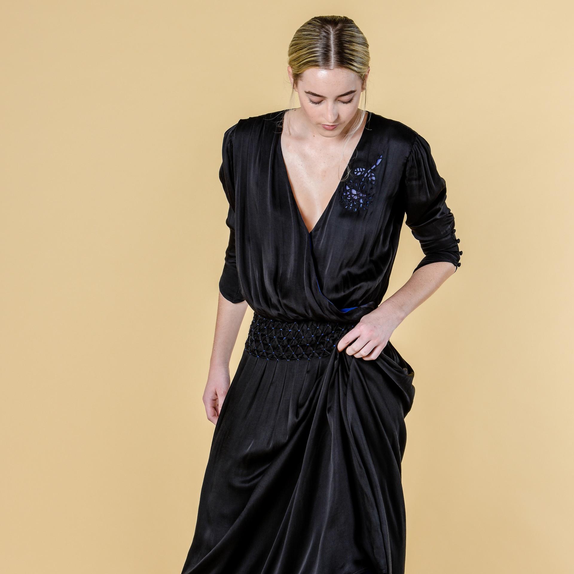 The Bachelet Dress in Black