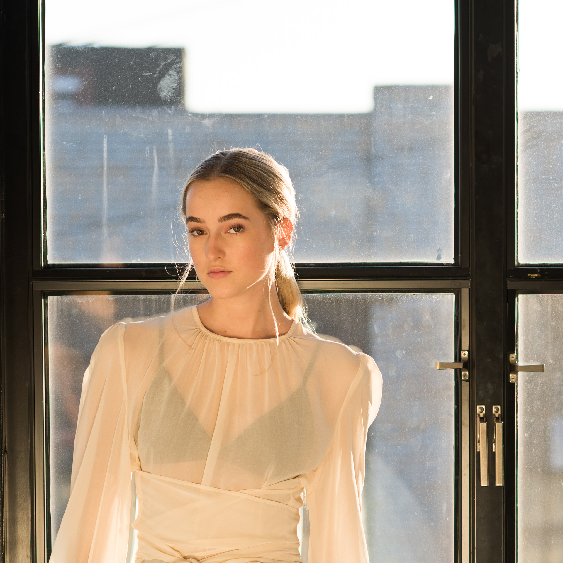 The Inês blouse in Ivory