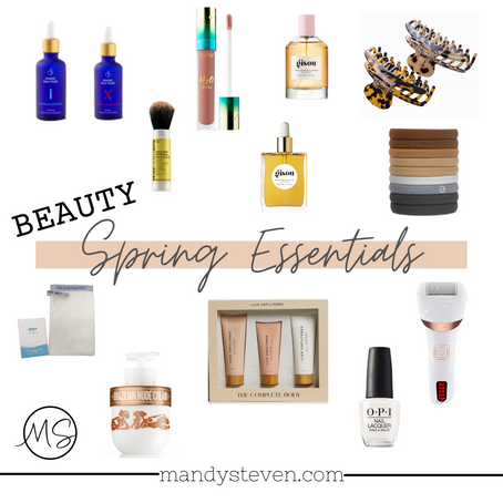 Spring Essentials - Beauty