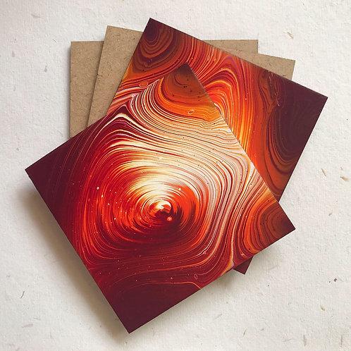 Rashi Agrawal Art Phoenix Coasters (Set of 2)