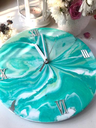 Rashi Agrawal Art Aurora Clock