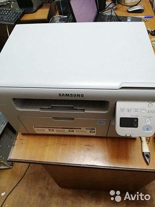 Лазерное мфу Samsung SCX-3400 с новым картриджем