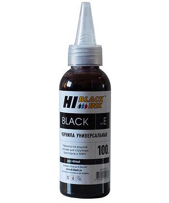 Чернила Hi-Black Универсальные для HP (Тип H), Bk, 0,1 л.