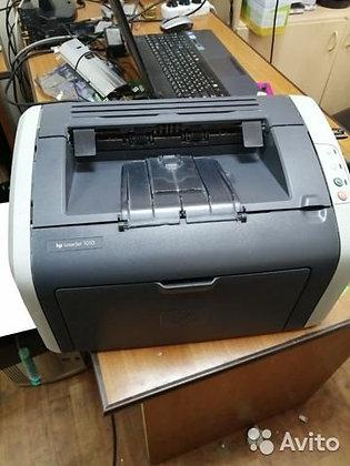 Лазерный принтер HP 1010 + картридж