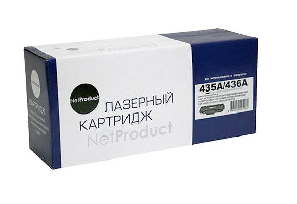 Картридж NetProduct (N-CB435A/CB436A/CE285A) для HP LJ P1005/P1505/Canon 725, Ун