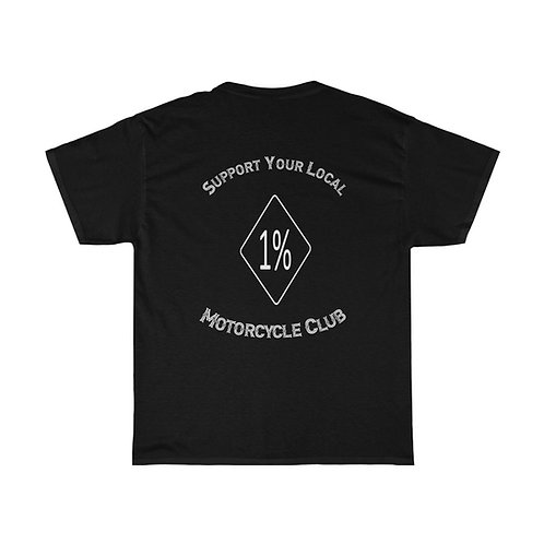 1% Motorcycle Club Support Shirt