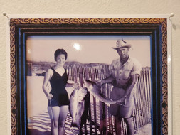 Charlie Jean Sartwelle fishing with her dad