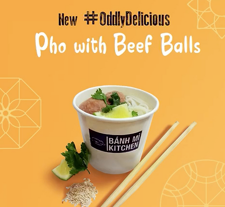 Pho with Beef Balls