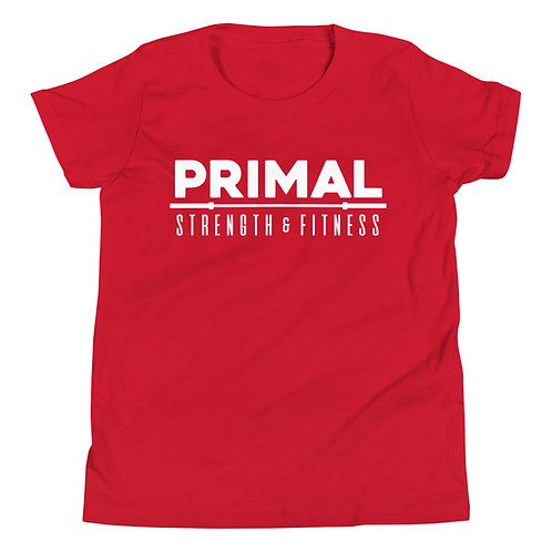 Primal Youth Tee Red