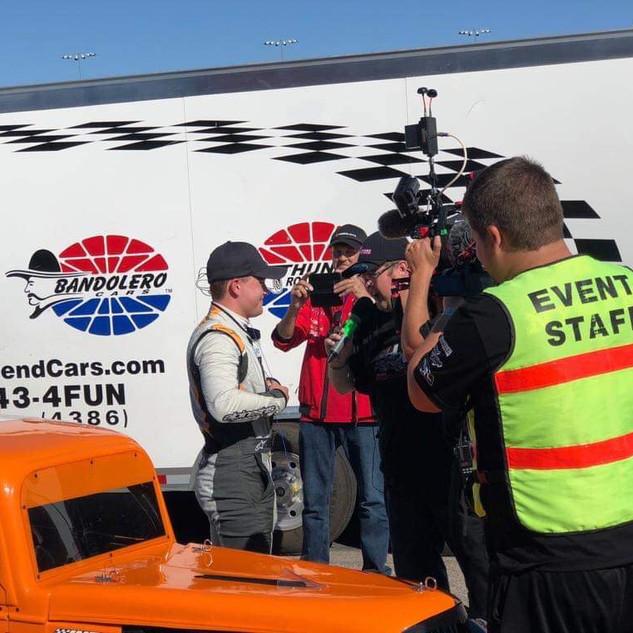 US Legend Cars Rasmus Ericsson World Champion
