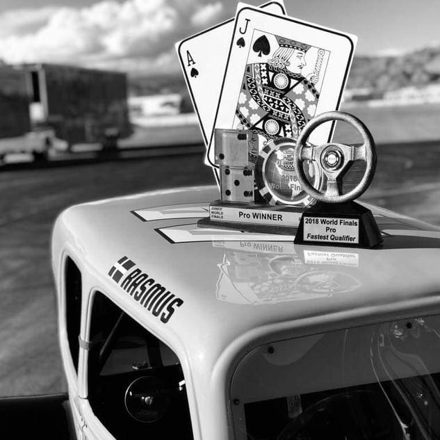 Rasmus Ericsson US Legend Cars Las Vegas