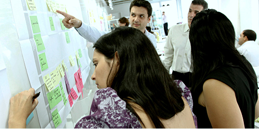 LG in-company Design Thinking