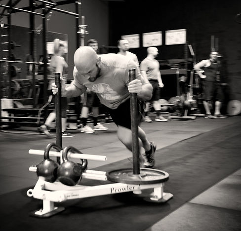 Iron Athletics Gym   Forest Hill MD   Personal Training   Strongman   Prowler   Sled Push   Athlete