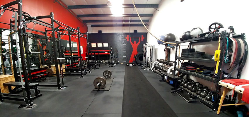 Iron Athletics Gym   Forest Hill MD   Personal Training   Strongman   Interior