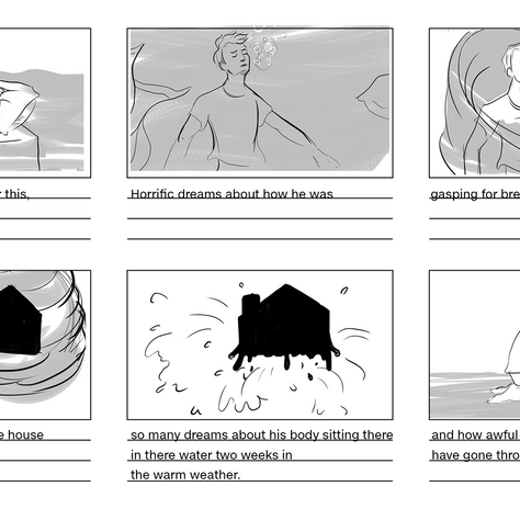 Early storyboards page1