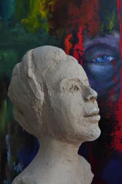 portrait H 15 cm