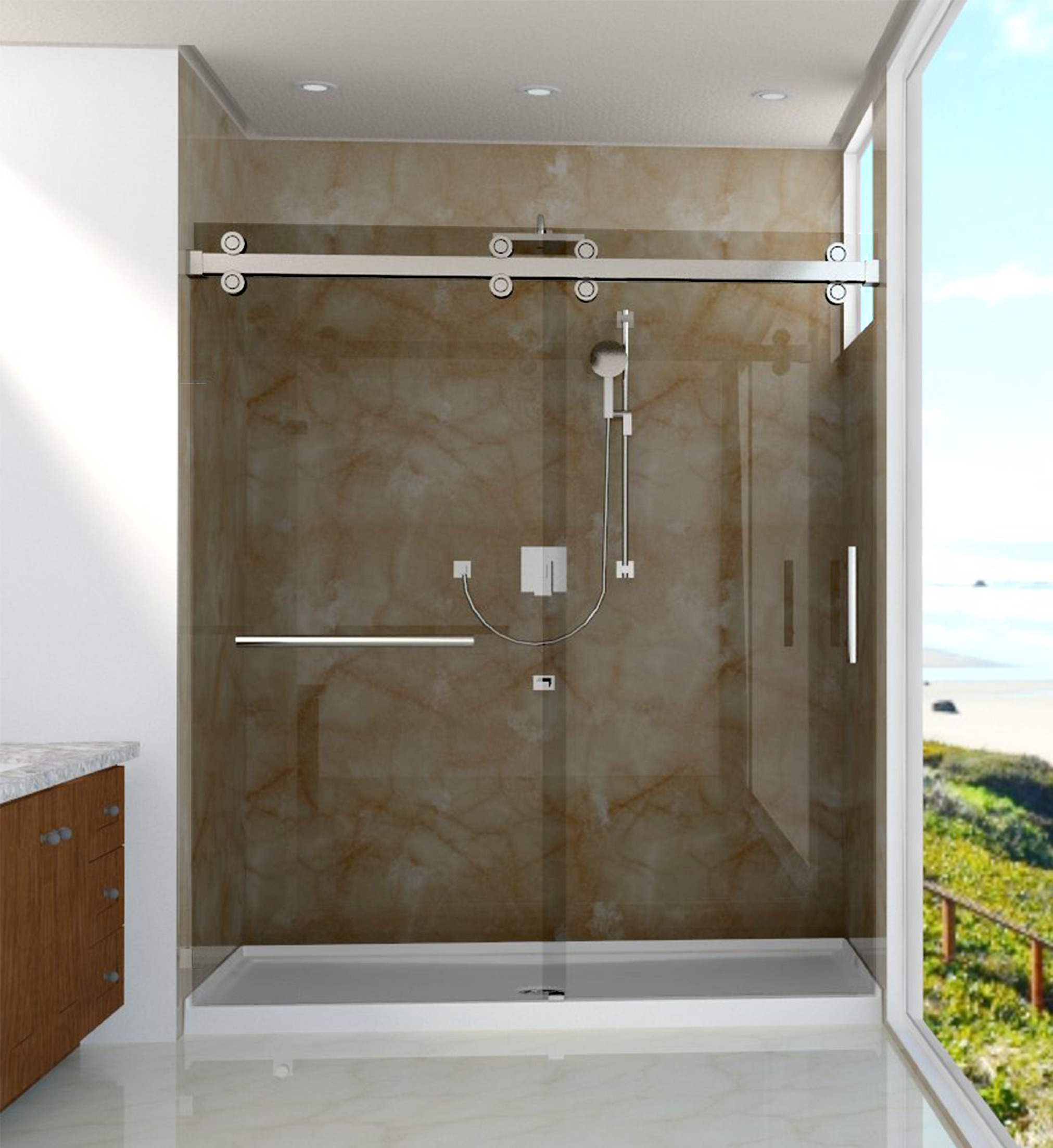 Luxury Shower Doors Eurotech Showers Inc United States