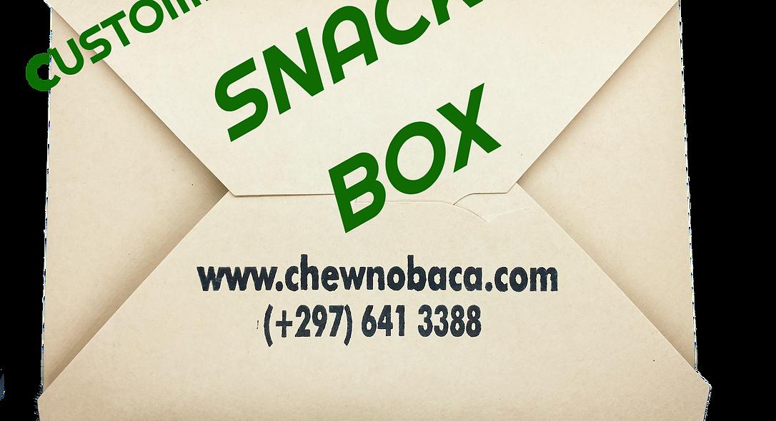 CUSTOM SNACK BOX - 10 PIECES (minimum order)