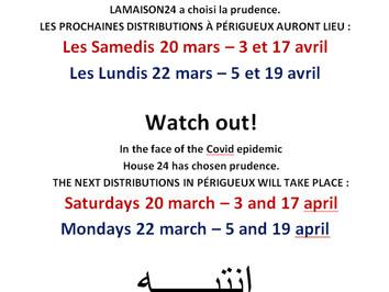 Face à l'épidémie, LAMAISON24 choisit la prudence