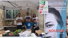 Appel à bénévoles pour le prochain marché solidaire à Périgueux , samedi 17 juillet