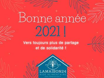 Meilleurs vœux pour 2021 et quelques bonnes nouvelles